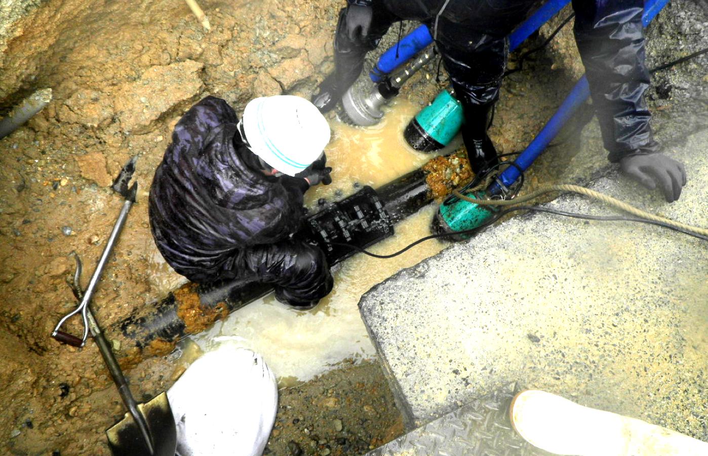漏水修繕工事イメージ